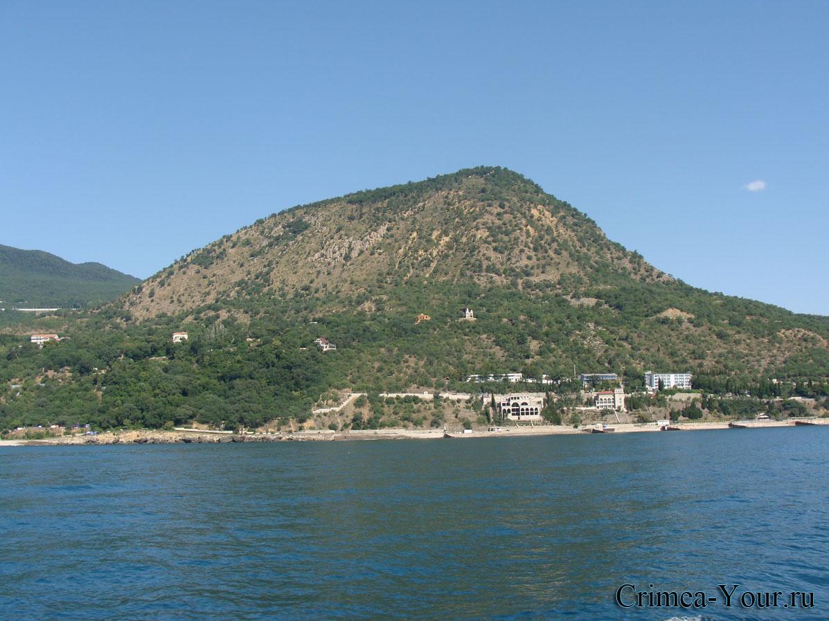 Алушта. Гора Кастель