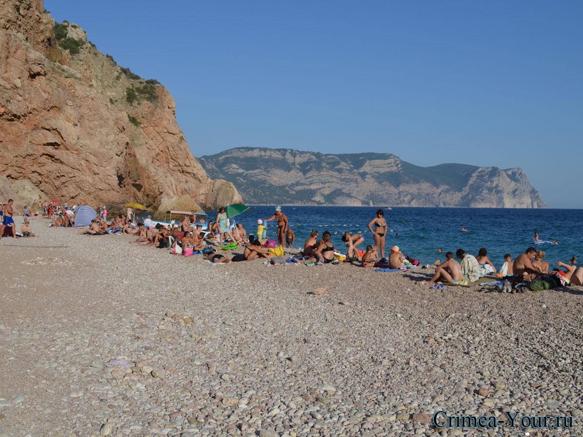 Балаклава. Золотой пляж