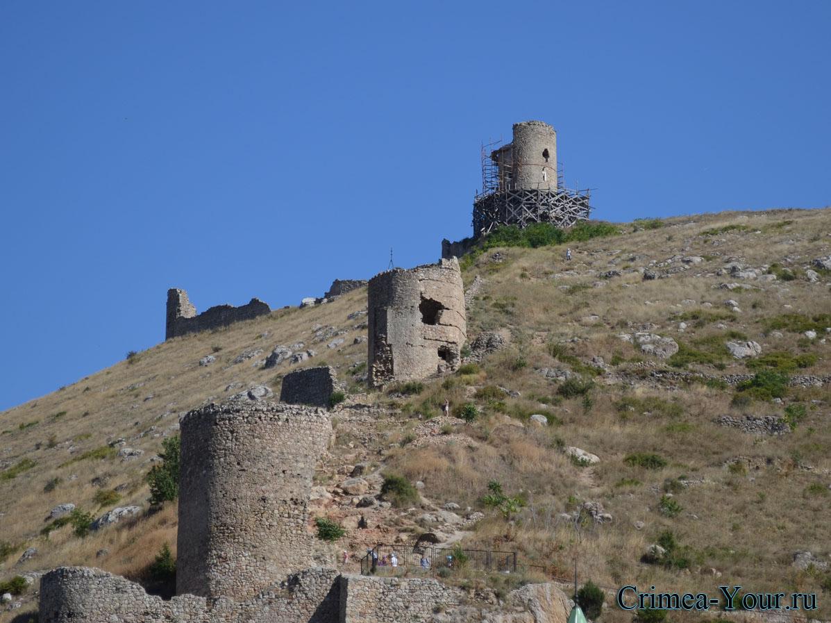 Балаклава. Балаклавская крепость Чембало