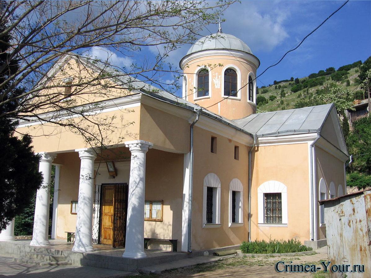 Балаклава. Храм 12 апостолов