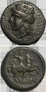 Монеты древней Керкинитиды