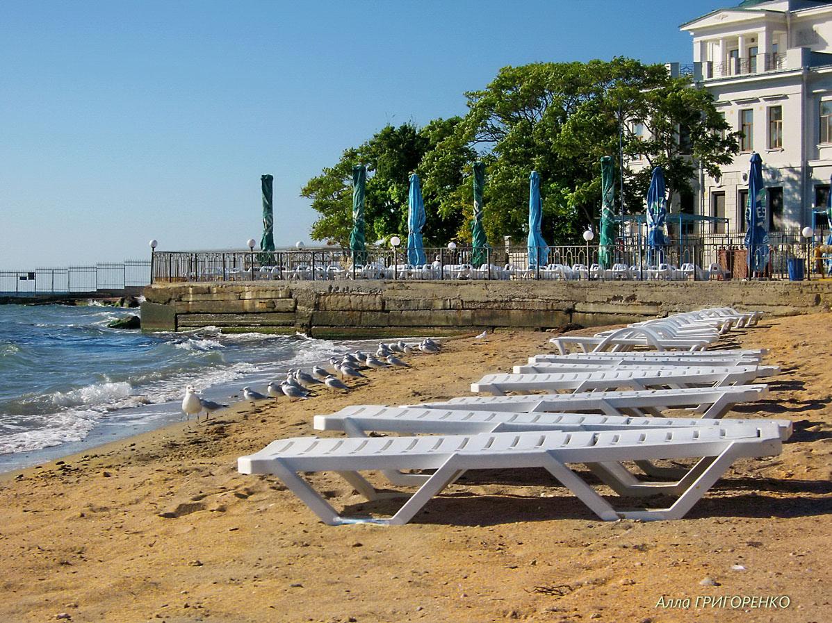 Евпатория. Городской пляж