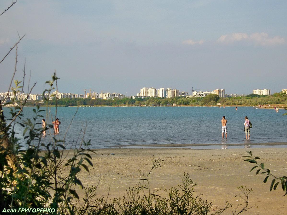 Евпатория. Озеро (лиман) Мойнаки