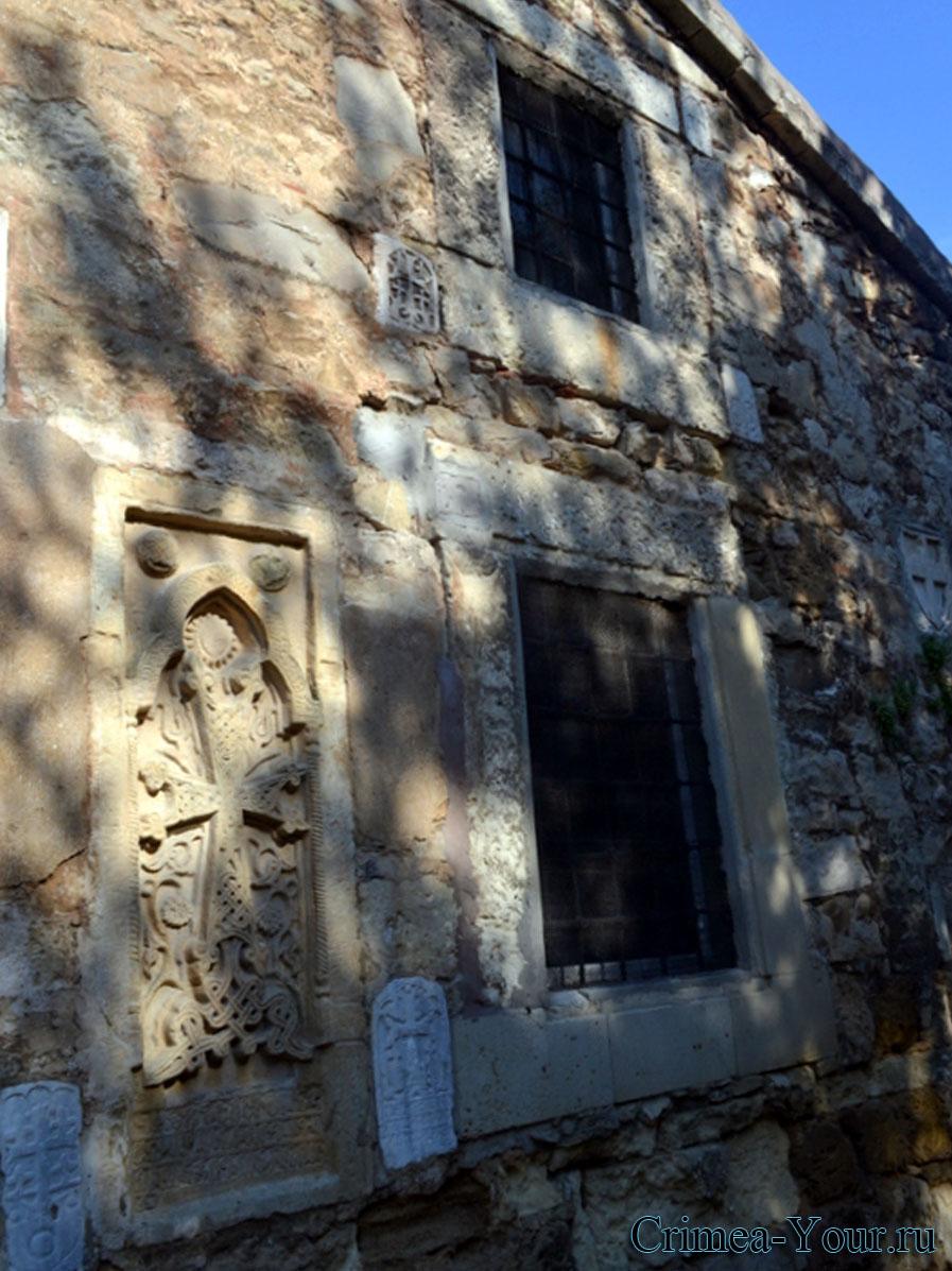 Феодосия. средневековая армяно-григорианская церковь святого Сергия (Сурп-Саркиз)