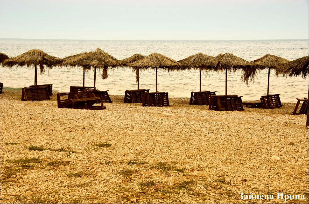 Море и пляж в Коктебеле