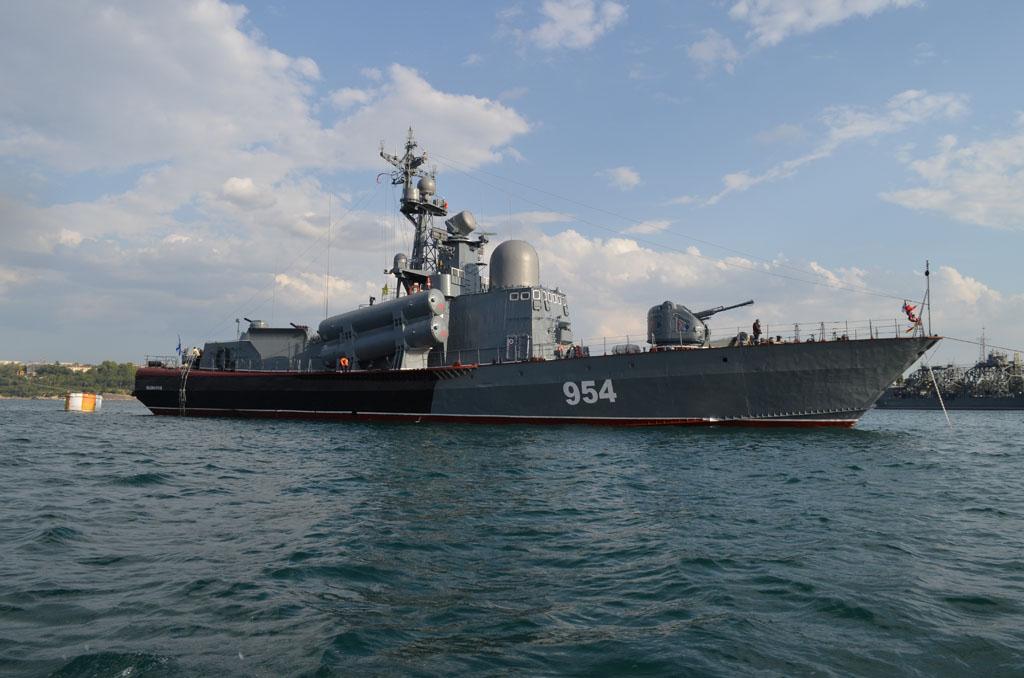 Севастополь. Военно-морская база Черноморского флота Российской Федерации