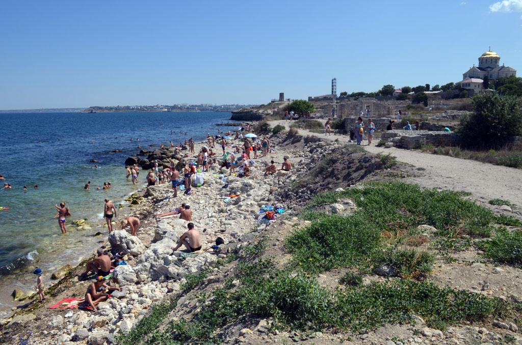Севастополь. Пляжи