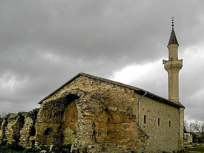 Старый Крым. Мечеть хана Узбека