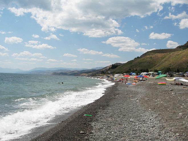Пляж Морского