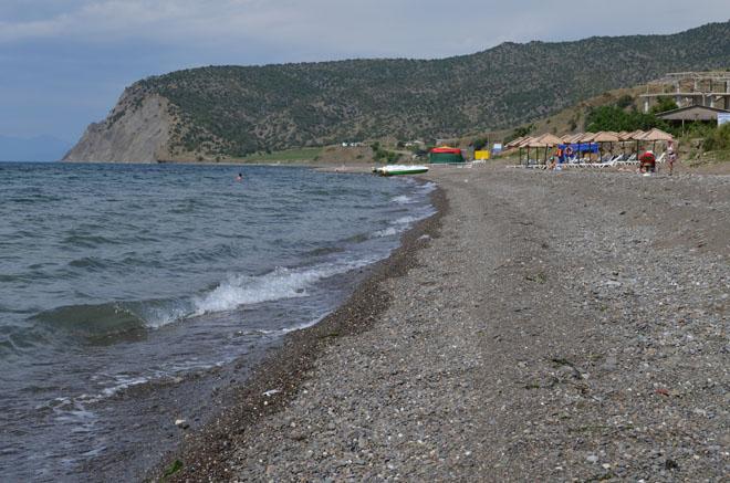 Пляж Веселого