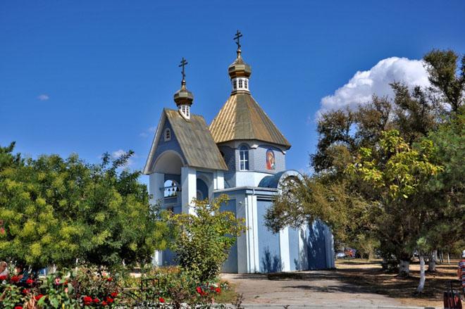 Приморский Никольский храм Николая Чудотворца