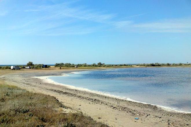 пляж лимана Оленевка