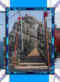 Подвесной мост в Симеизе