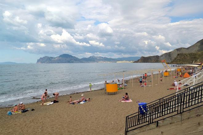 Пляж Орджоникидзе