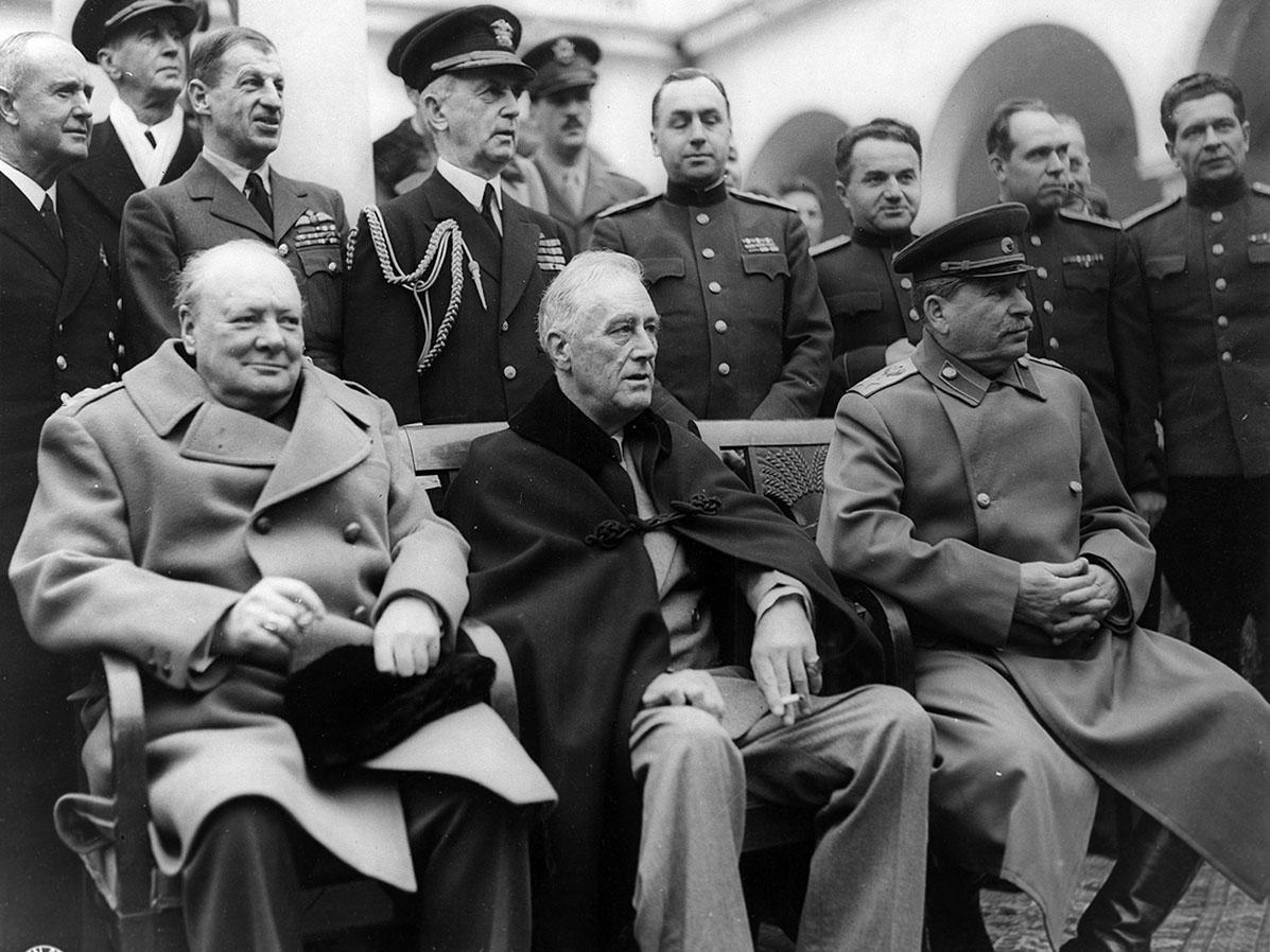 Ялтинская конференция антигитлеровской коалиции